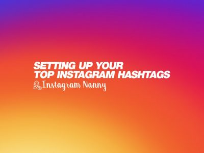 Setting up your top Instagram hashtags