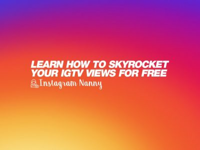 Learn how to skyrocket your IGTV views for free 📺